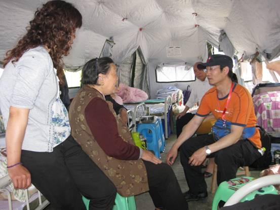北京安定医院心理危机干预小组芦山救灾日记(