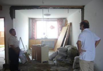 房屋装修时照片