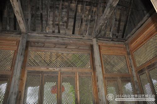 中国传统建筑四梁八柱的