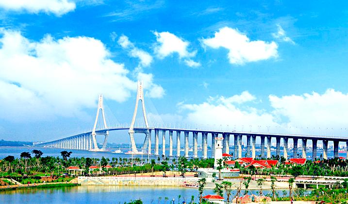 中国 湛江/湛江海湾大桥