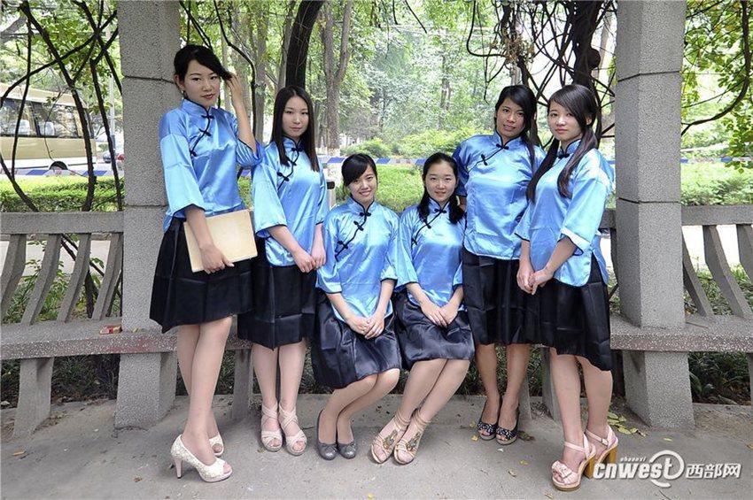 高清:长安大学剧情版毕业照 演绎民国热血青年【7】图片