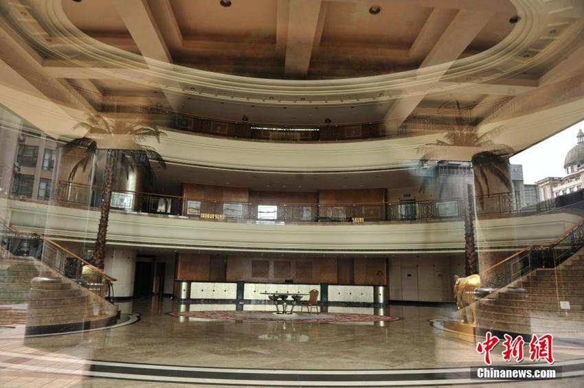 高清 重庆首家五星级万豪酒店关门图片