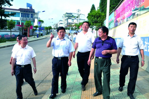 盘县大山镇中学校园风景