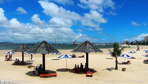 湛江金沙湾海滨浴场