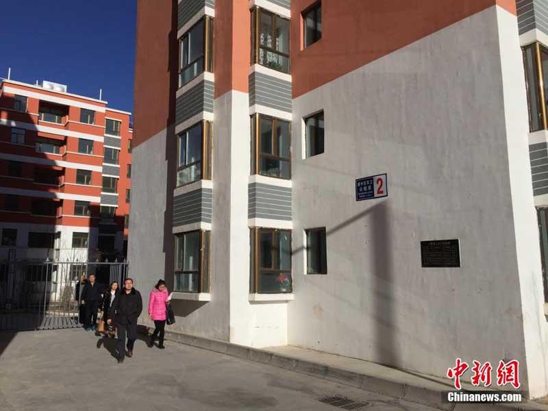 人.位于青海省西宁市南川东路水磨村的环卫工人公租房是西北五省图片