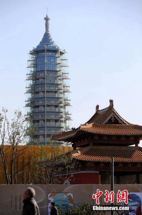 明朝的南京 琉璃塔