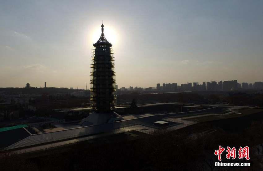 高清:南京大报恩寺遗址公园开园