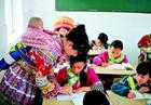乡村女教师熊文碧:背着娃娃教书