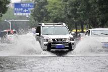 天津局部出现暴雨天气