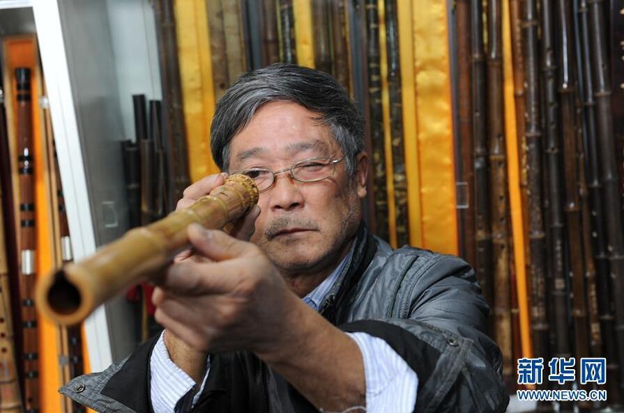 贵州玉屏 传承发展箫笛文化