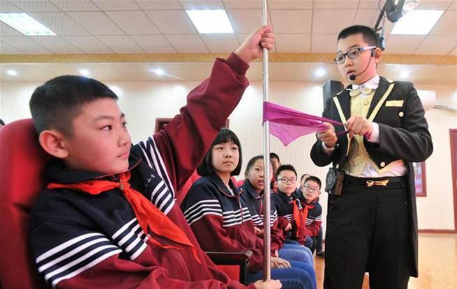 河北:杂技文化 校园传承