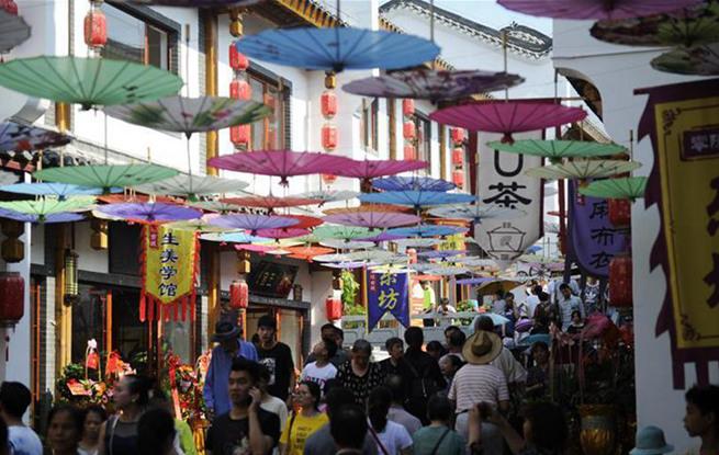 湖南永州:零陵古城开街迎客