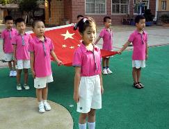 南昌:开学首先升国旗