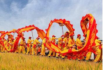 农民欢庆丰收节