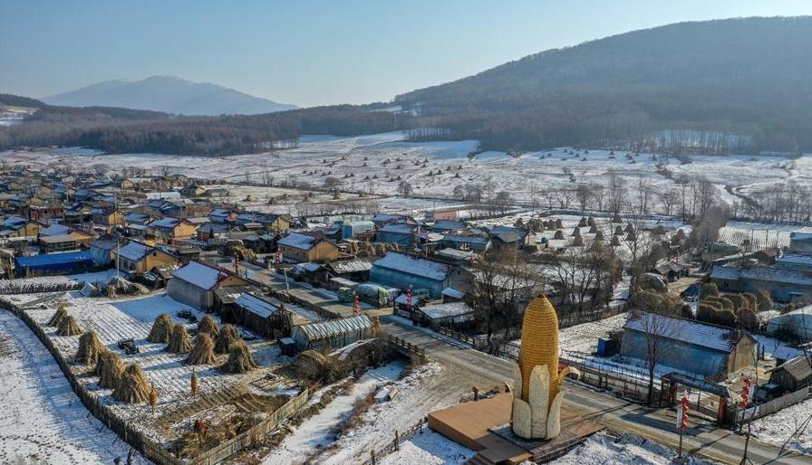 吉林舒兰:小村屯的冰雪经济