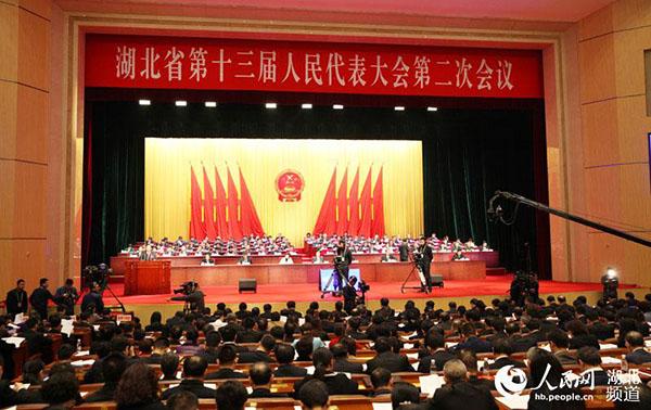 现场:湖北省十三届人大二次会议14日开幕