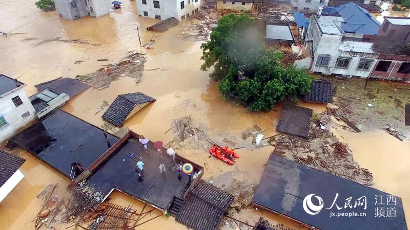 [网连中国]22省份675万人遭遇洪灾 短期内强降雨仍将持续