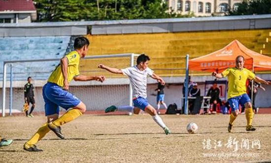 湛江第三届职工七人制风云足球直播足球比赛(全市总决赛)开幕