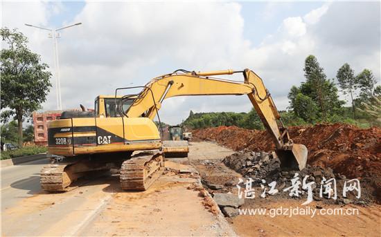 湛江市今年实施普通国省道项目29