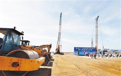 我市8个重点项目同时开工建设