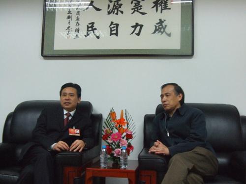全国人大代表 赣州市市长王平做客人民网