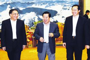 国家环保部历任部长_王珉韩长赋会见国家环保部部长周生贤一行--地