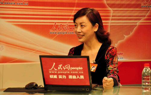全国人大代表,翔宇教育董事长王玉芬做客人民网